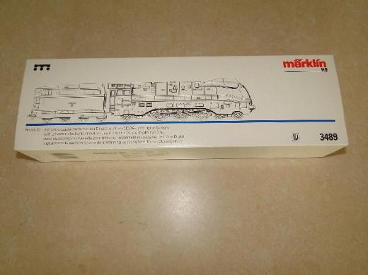 Märklin, Dampflokomotive BR 03.10 DRG, H0, Modell 3489, OVP