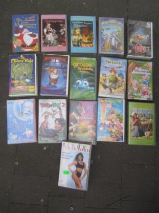 15 + 1 Filme  VHS