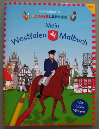 Mein Westfalen-Malbuch.