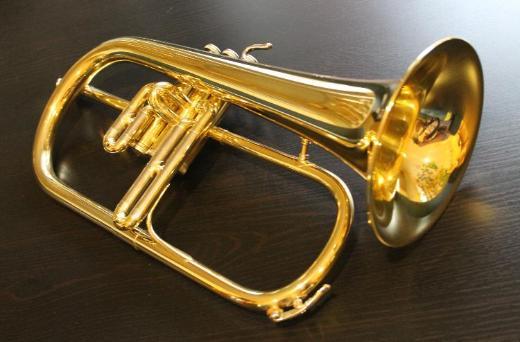 B & S Flügelhorn Mod. 146, Made in Germany inkl. Koffer