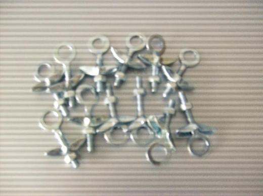 12 Oldtimer Kettenspanner verzinkt Loch-dm 11mm