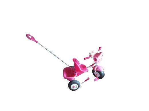 Dreirad, Farbe: Pink  von der Fa. Kettler neuwertig mit Lenkstange