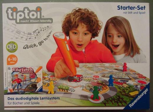 """TipToi Spiel des Starter-Sets """"Die Englisch Detektive"""" (ohne Tiptoi-Stift)"""