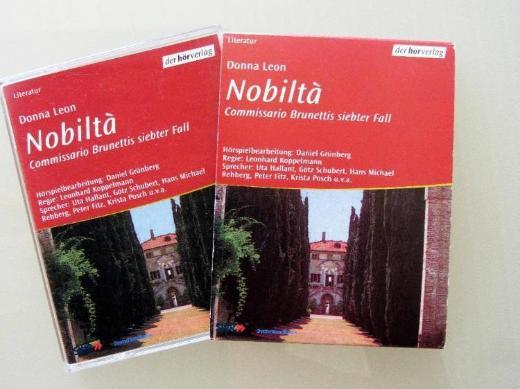 "Hör-MC Donna Leon: ""Nobilta – Commissario Brunettis siebter Fall."""