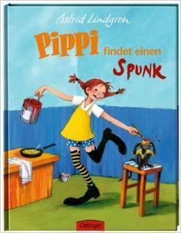 Pippi findet einen Spunk Gebundene Ausgabe