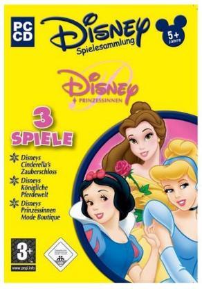 Disneys Spielesammlung - Prinzessinnen PC-Spiele Deutsch