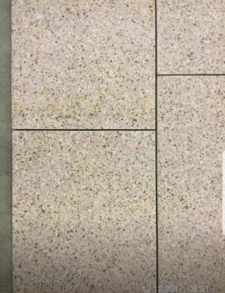 Granit Fliesen Padang gelb (Giallo Gloria) geschliffen, Boden, Platten