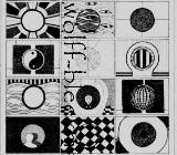 Mittelpunkt 1 - Grafik 21,5 x 30,5 cm Original Ingrid Wolff-Bleekmann - Münster