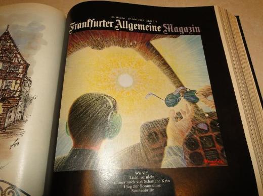 FAZ Franfurter Allgemeine Magazine aus dem Jahr 1985, 28 Hefte