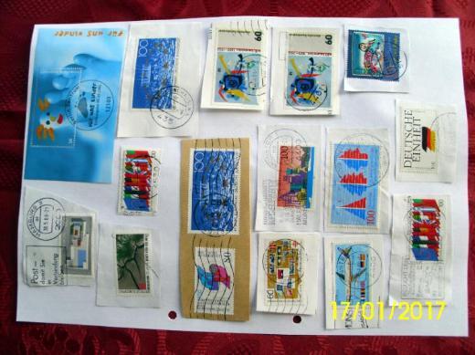 Briefmarken Sondermarken Deutsche Bundespost