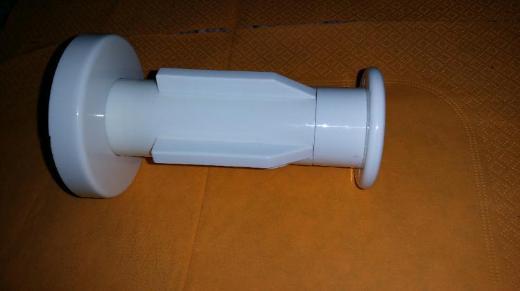 Hewi WC Papierhalter Rollenhalter 455 ds, weiß, neu bis neuwertig