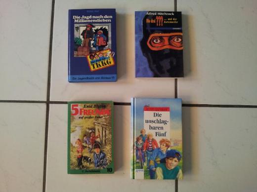 Über 20 Kinder-/ Jugend- Bücher - je 1,50 €