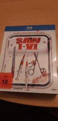 Saw 1-6 Bluray Box