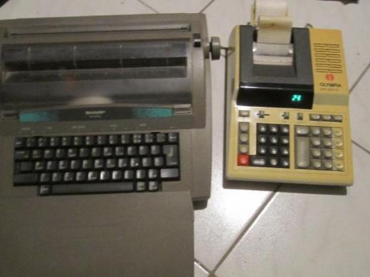 Schreibmaschine + Rechenmaschine