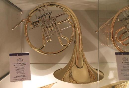 Hans Hoyer Hoch F - Diskanthorn, Modell 5811G, Neu und sehr selten