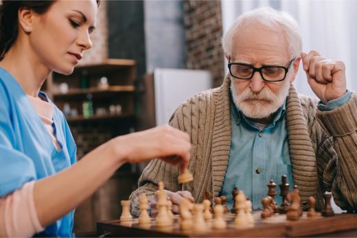 Häusliche Seniorenbetreuung