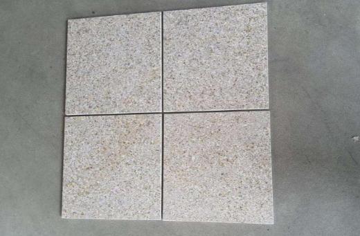 "Restposten Granit Fliesen Padang gelb ""Giallo Gloria"" poliert 30,5x30,5"