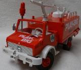 PLAY BIG Feuerwehrauto - Retro - Oldie - SELTEN!!! - Raesfeld