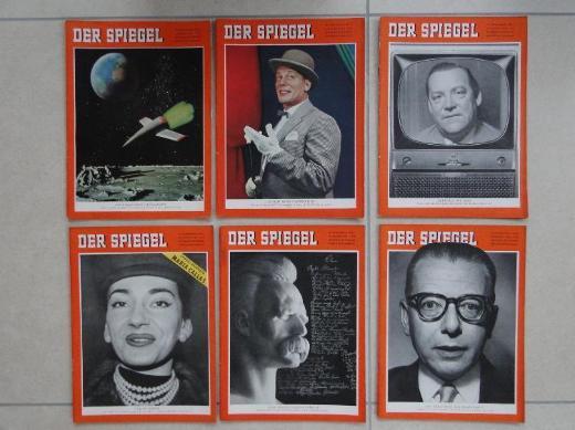 DER SPIEGEL, Jahrgang 1958, komplett, 52 Ausgaben