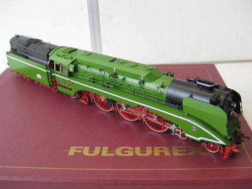 FULGUREX # 2210 H0 Dampflok BR 18 201 DR VESM NEU