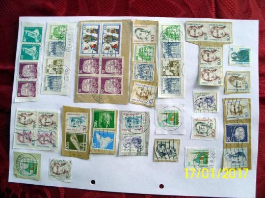 Briefmarken Deutsche Bundespost