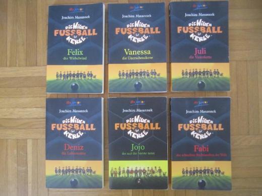 5 x Die wilden Kerle > Fußball