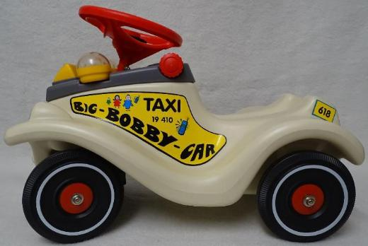 """Original Bobby Car Sondermodell """"Taxi"""" - SELTEN!!!"""