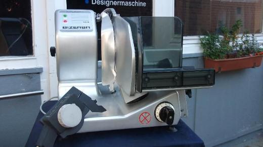 BIZERBA VS12 230 V mit neuem Schleifgerät !  entspricht den Anforderungen der BFG