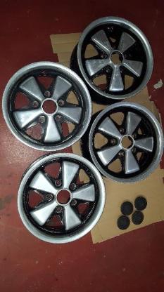 4 x Porsche Fuchs Felgen