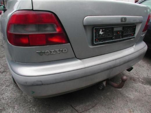 Volvo S40 V40 Schlachtfest silber Stoßstange hinten