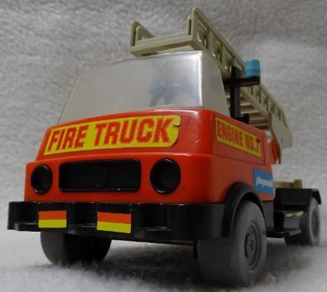 Playmobil Feuerwehrauto - Retro - Oldie - SELTEN!!!