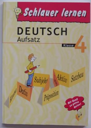 Deutsch Aufsatz Klasse 4, Reihe Schlauer lernen