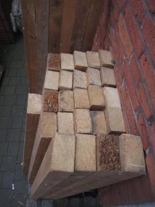 Holzbalken/Kantholz , L= 125 cm + 220 cm