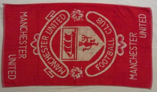Handtuch Manchester United 70er-Jahre