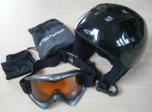 Kinder Skihelm Carrera Gr. 53-56 mit Skibrille