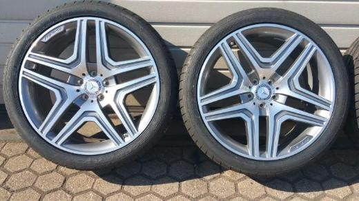 AMG W166 W164 ML GLE Dunlop Sommerräder 295 35 21 107Y DOT 4917