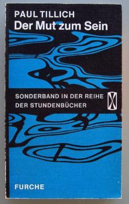 Tillich: Der Mut zum Sein (1968)