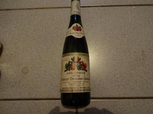 44 Jahre alter Wein: Erdener Treppchen Auslese, Mosel-Saar-Ruwer, 1975