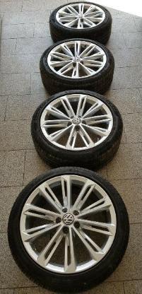 "VW R-Line ""Verona"" Komplettradsatz Sommer 19 Zoll"