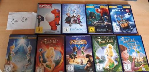 Disney DVDs je 2,50€