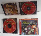 """3 CD`s KIM POSSIBL, Folge 8 - 9 - 11 und ein """"ANKH"""" CD-ROM PC Spiel, gebr. - Münster"""