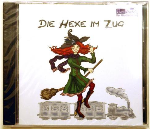 """Märchen-CD """"Die Hexe im Zug"""". (ab 5 Jahre)"""