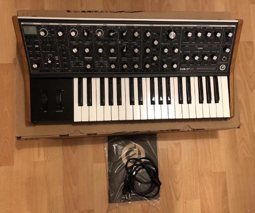 Moog Sub 37 Tribute Edition Analog Synthesizer