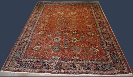 Orient-Teppich Sarogh 340 x 256 cm handgeknüpft