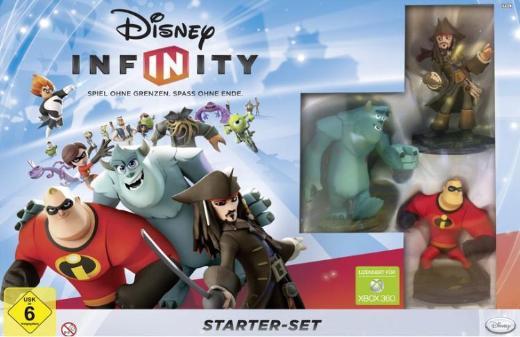 Disney Infinity Starter Set (Spiel) + 22 Figuren + 3 Welten