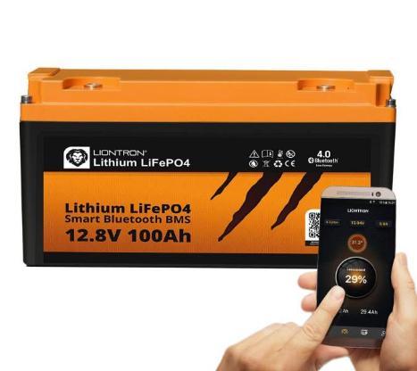 100AH LiFePo Batterie, tauschbar gegen jede Standardbatterie