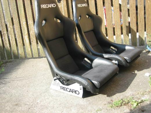 Recaro Schalensitz Pole Position Mercedes