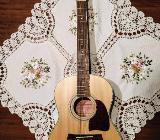 3/4 Westerngitarre inkl Tonabnehmer Tasche Fingerstyle Gitarre - Bocholt