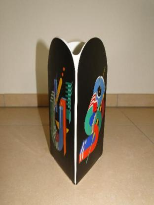 Rosenthal, Vase Fortuna, Design Marcello Morandini, 80er Jahre