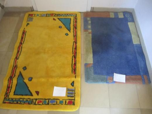 2 schöne Teppiche
